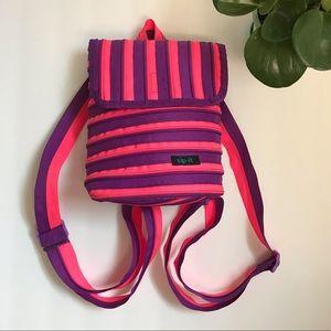 3/$25 Zip-It Pink Purple Mini Zipper Backpack